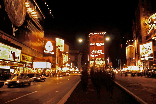 Times Square Mid 70 S I Found This Slide And Thought It
