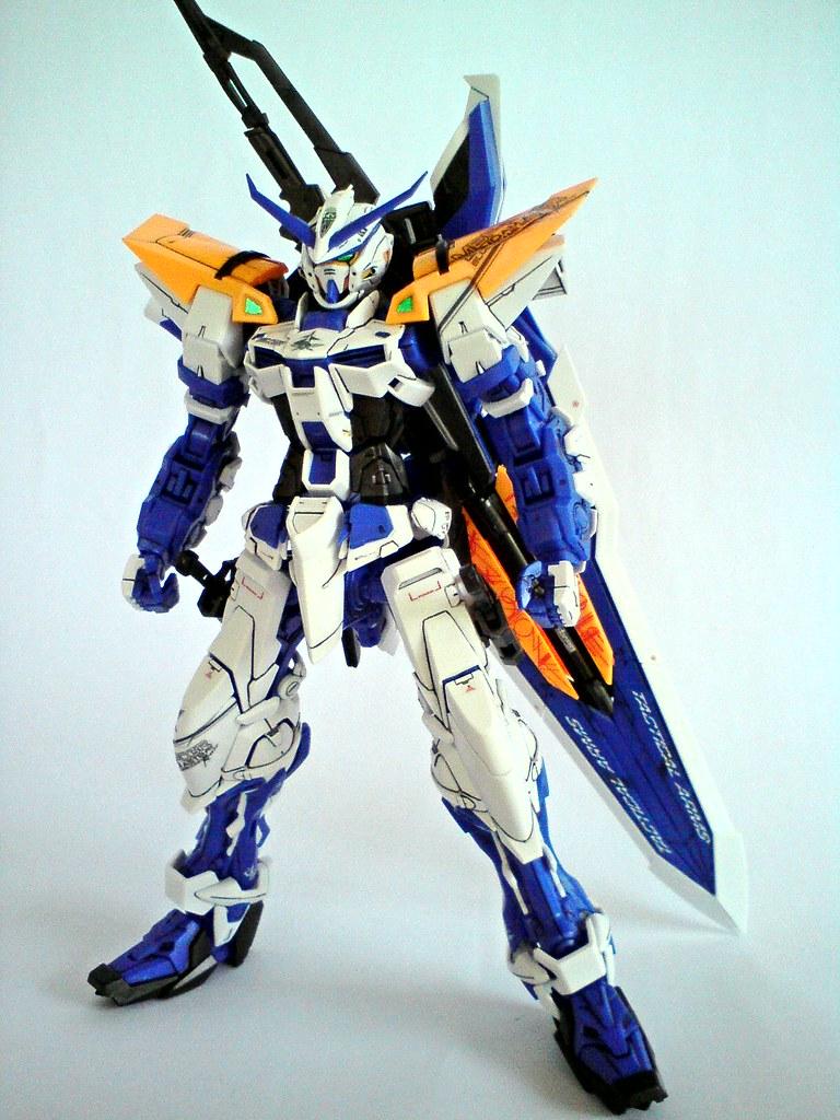 MG Gundam Astray Blue Frame 2nd Revise   The Astray Blue Fra   Flickr