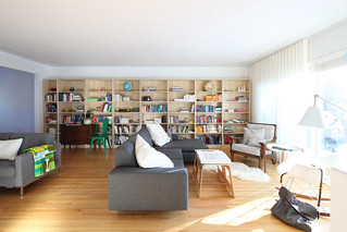Living Room/ Library project | by The 10 cent designer