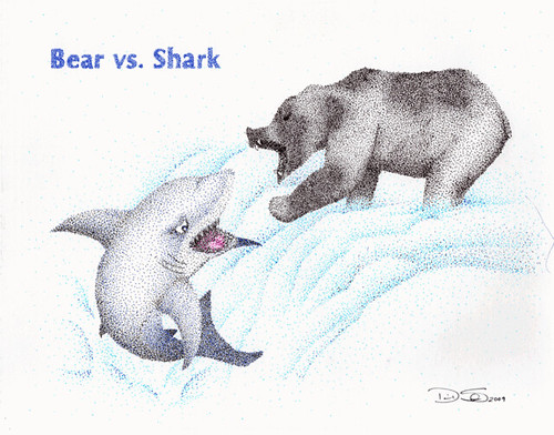 Pin Bear Vs Shark Slee...