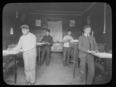 Students in the incubation room at the Woodbine Agricultural School, New Jersey | by Center for Jewish History, NYC