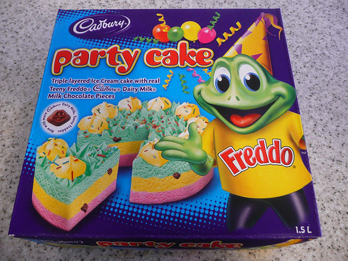 Freddo ice cream party cake Juji and Jay brought a ...