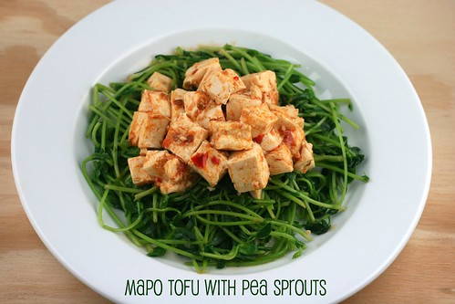 Mapo Tofu with Pea Sprouts | by Food Librarian