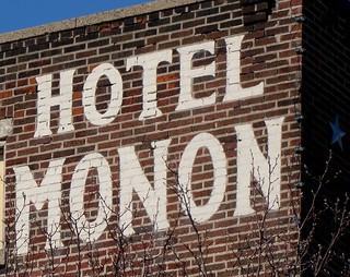 IN, Crawfordsville-Hotel Monon Wall Sign | by Alan C of Marion,IN