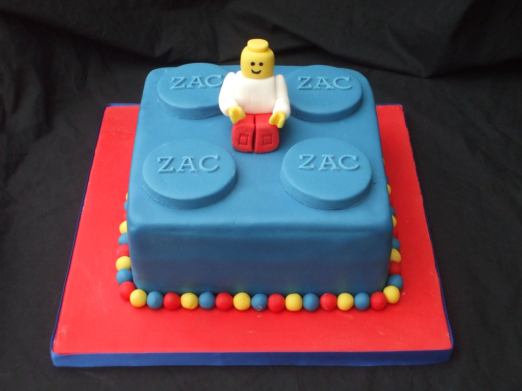 Building block Cake | Cake made for my little man's best ...