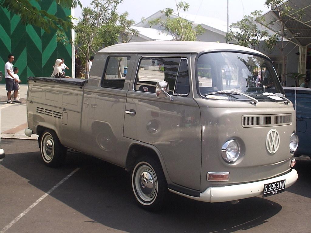 Volkswagen type 2 indonesian say vw kombi double cabin - Pieces combi vw t2 ...