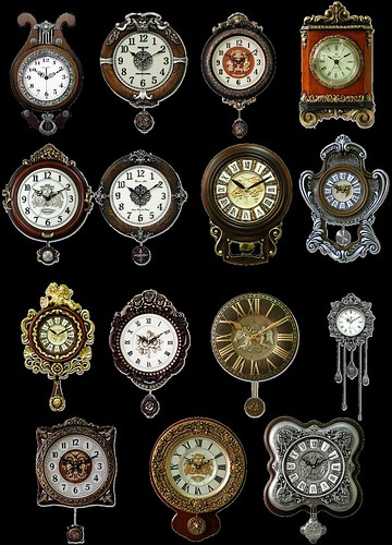 Antique Clock Snips | by rubyblossom.