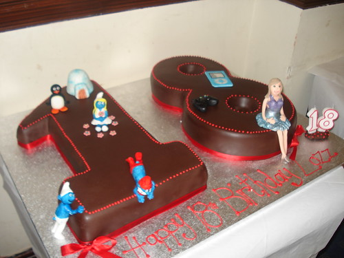 Chocolate 18th Birthday Cake Rich Moist Chocolate Cake
