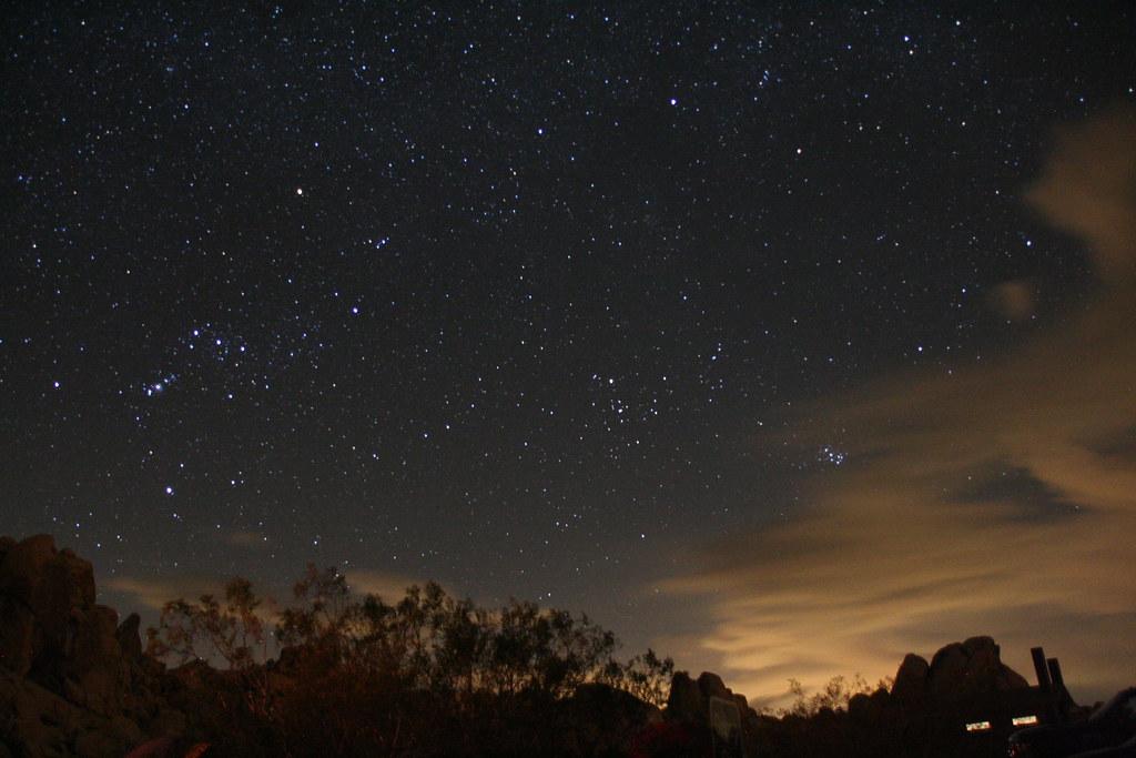 Stars Joshua Tree National Park Night Sky Over Joshua Tre