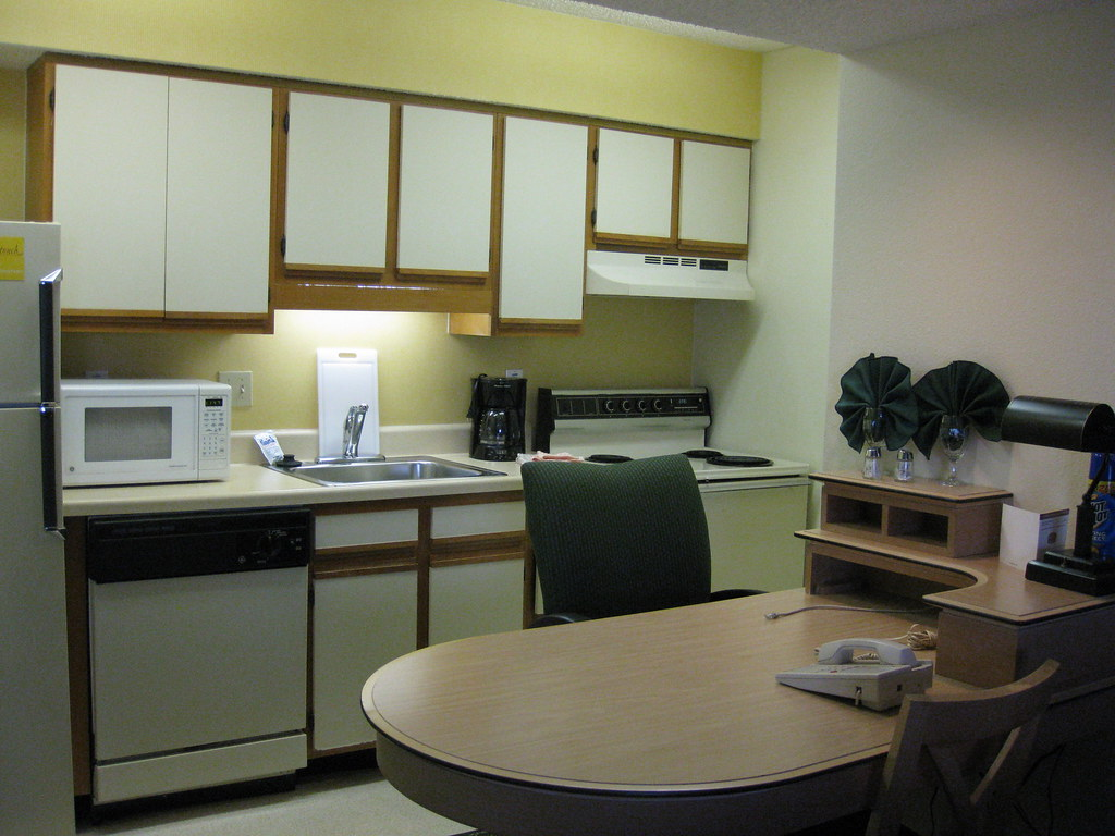 Desk With Kitchen Cabinets