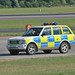 Range Rover of Greater Manchester Police at Manchester Airport