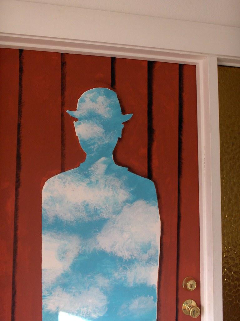 ... Magritte left door | by aiko-sumida & Magritte left door | Rene Magritte doors. japochine.blogspotu2026 | Flickr