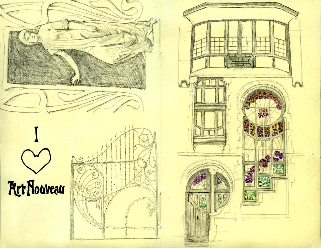 I Love Art Nouveau