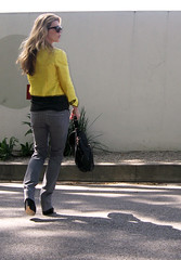 shantung yellow jacket gray jeans 4 | by ...love Maegan