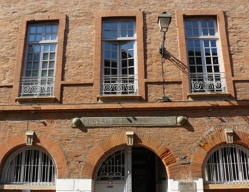 Toulouse bureau de bienfaisance rue taur marie hélène