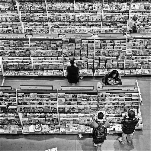 people and magazines | by wvs