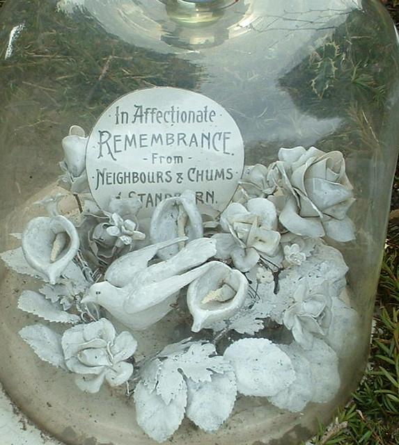 Grave Ornaments Muiravonside Cemetery Scotland