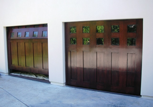 ... Custom Impact Wood Garage Doors | By DecoDesignCenter.com