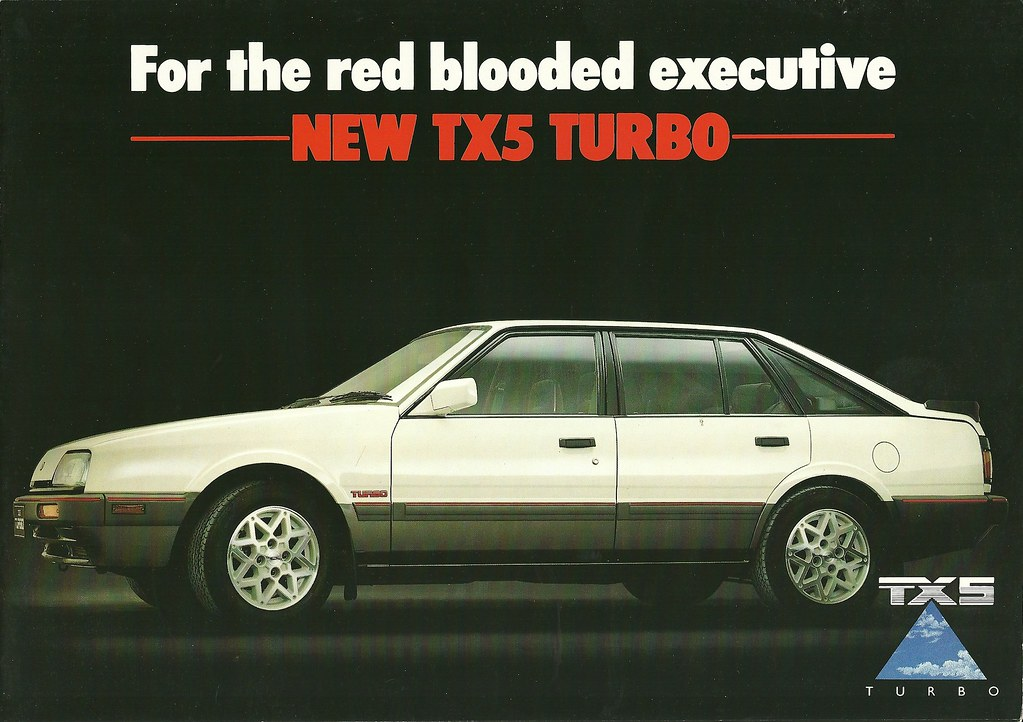 ford tx5 turbo mazda 626 based ford made in japan and aust flickr. Black Bedroom Furniture Sets. Home Design Ideas