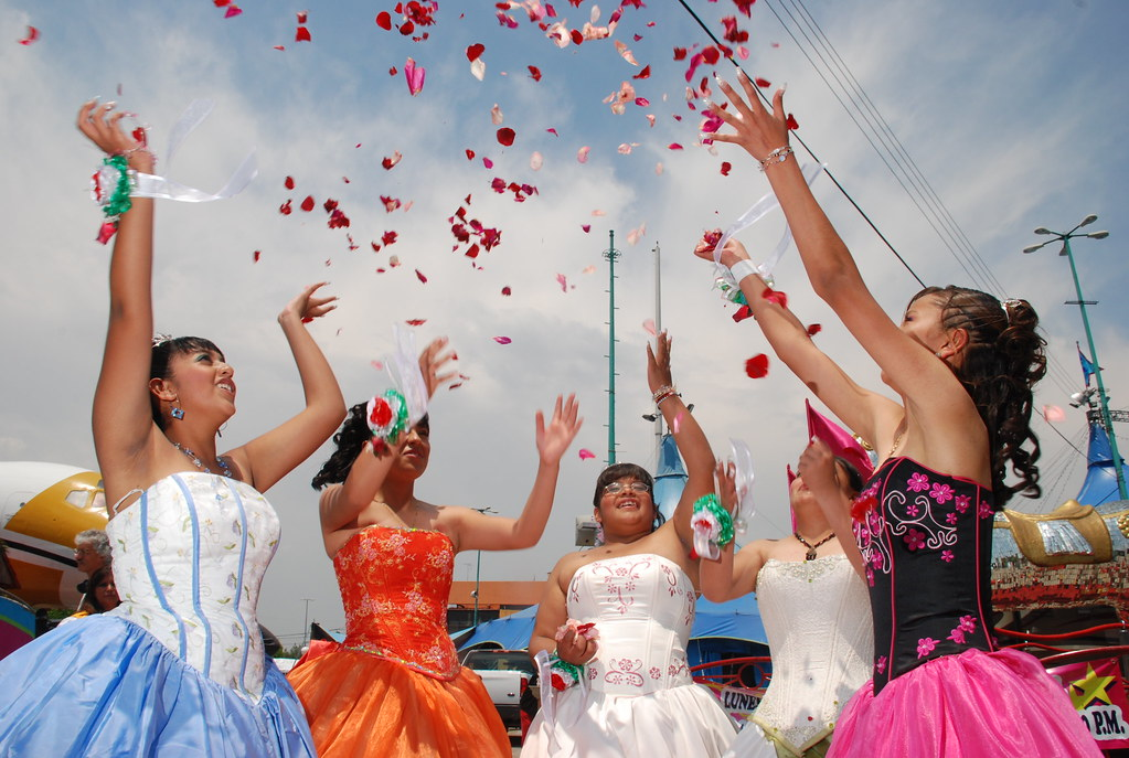 Image result for celebration of a quinceanera