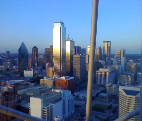 Dallas View From Five Sixty Aka Reunion Tower