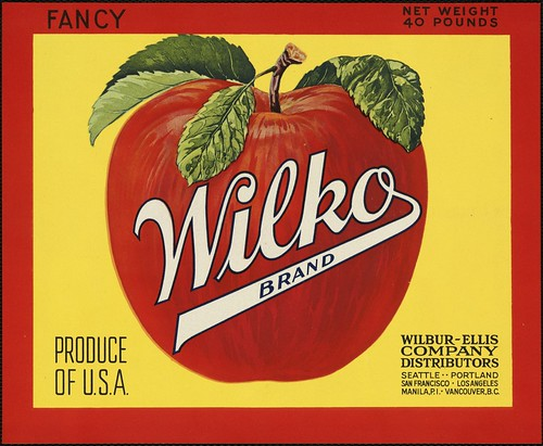 Fancy Wilko Brand: Produce of U.S.A., Wilbur-Ellis Company distributors | by Boston Public Library