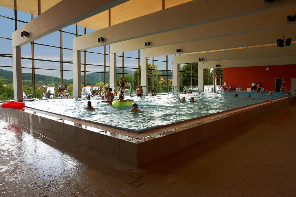 Bodenmais Silberbergbad Schwimmen Kinder Beim Schwimmen Flickr