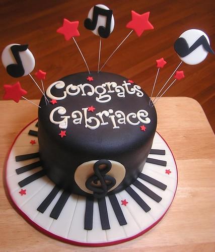 Piano Lavoro Cake Design : Piano Cake 6