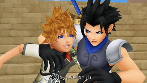 Zack and Ventus Birth By Sleep