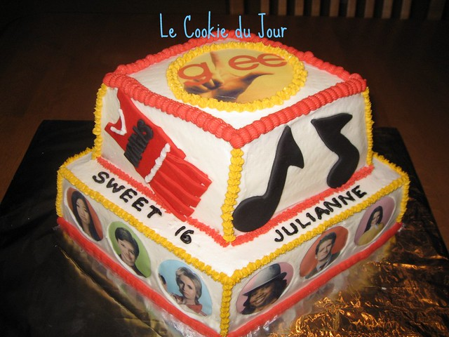 Glee Birthday Cake