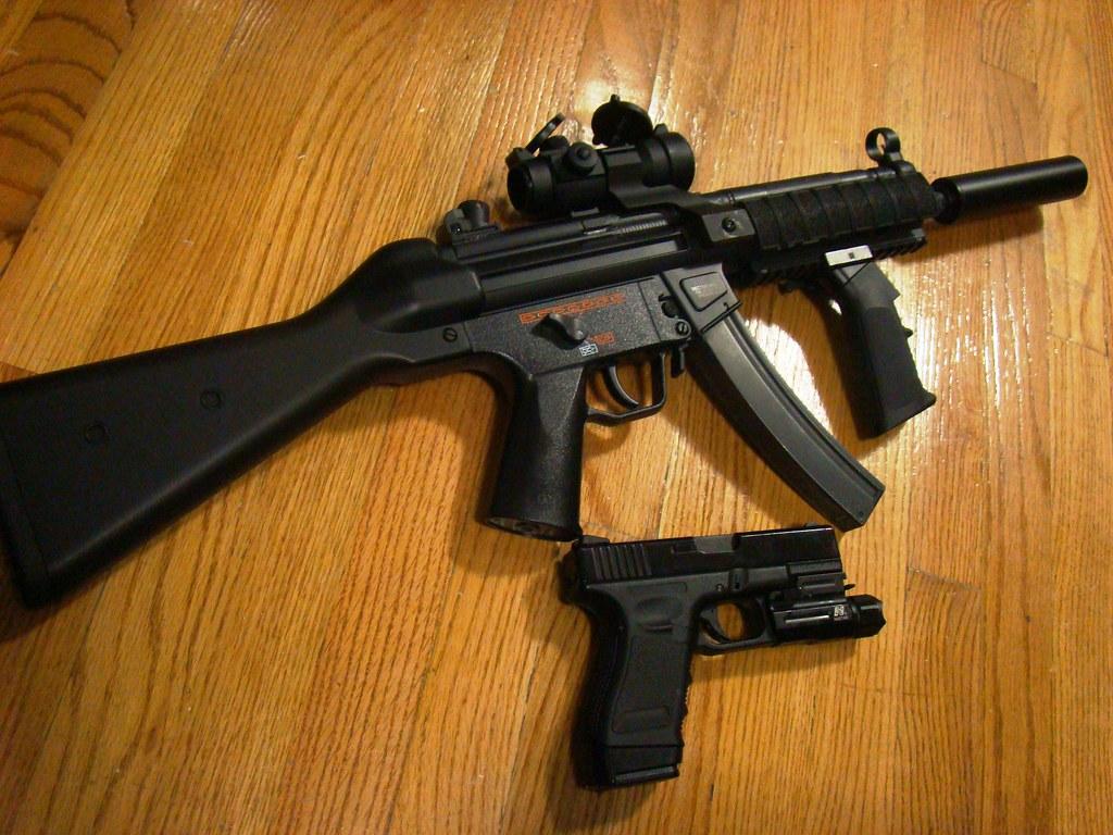 Vector Arms Mp5 Airsoft Echo1 Vector Arms Mp5 w/