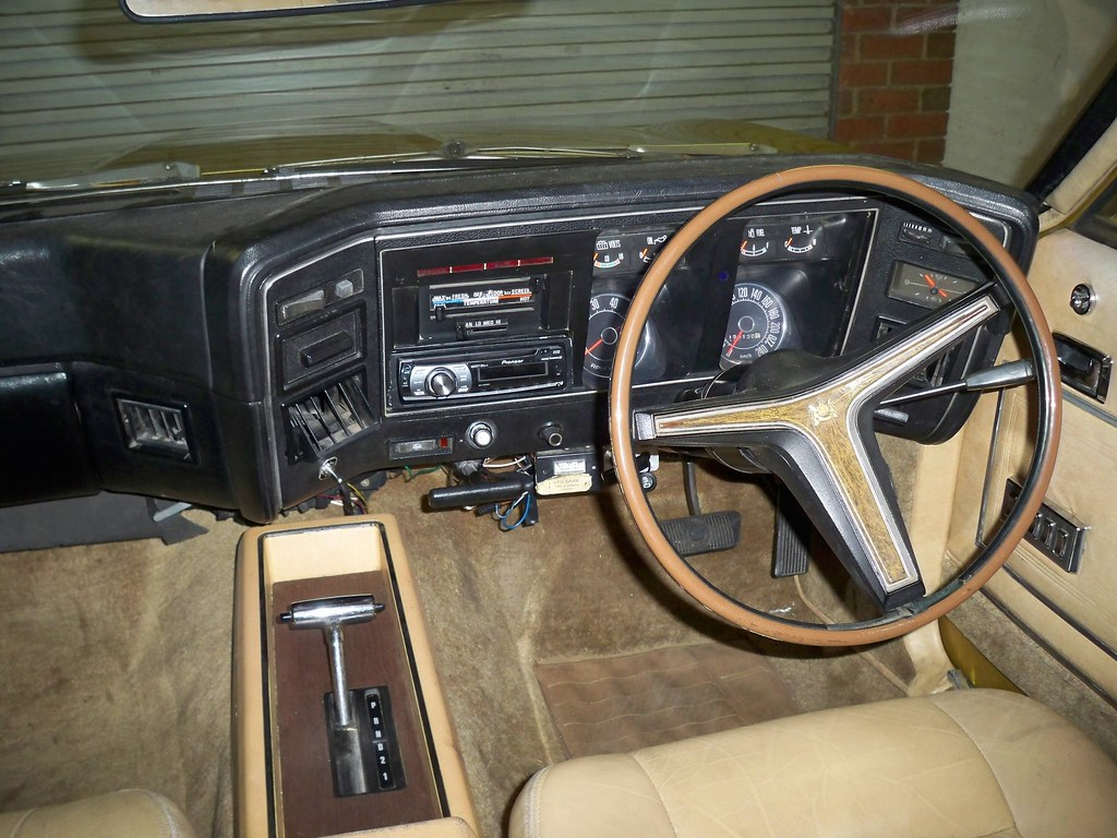 Zg Fairlane With Gt Dash Xb Gt Dash Installed In The 80