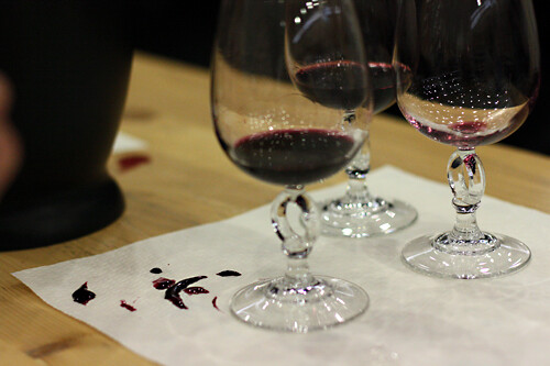 red wine spill | by David Lebovitz