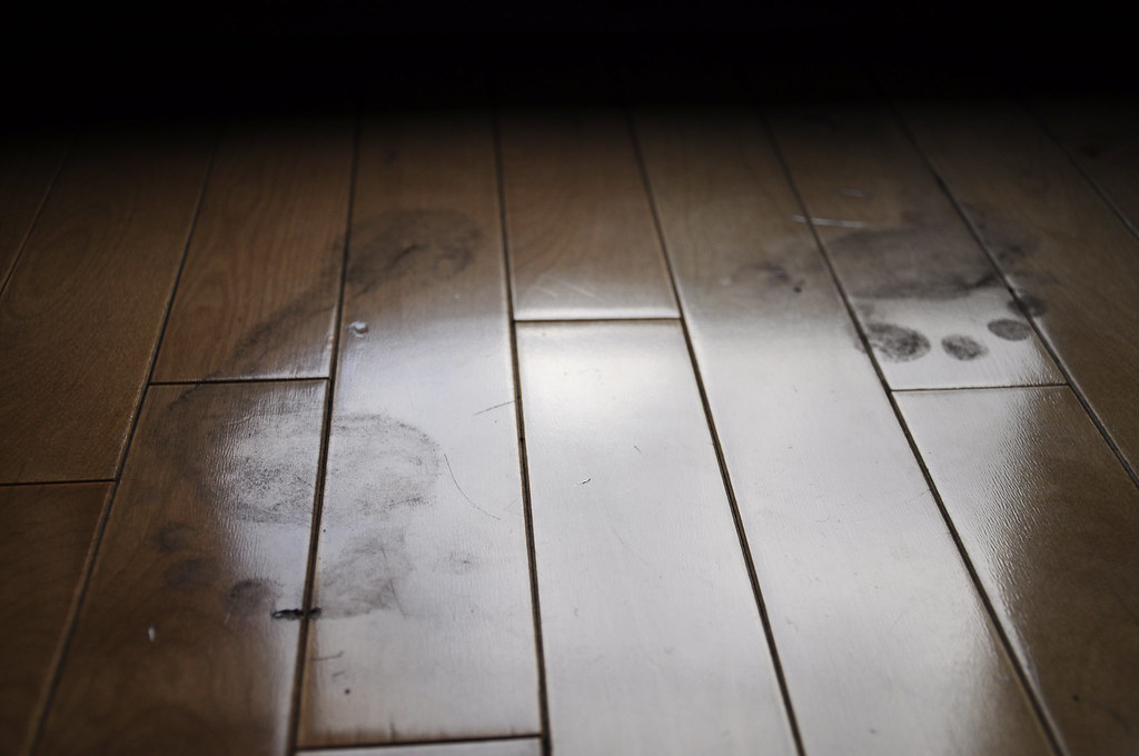The intruder dirty feet on a hardwood floor can only for Hardwood floors hurt feet