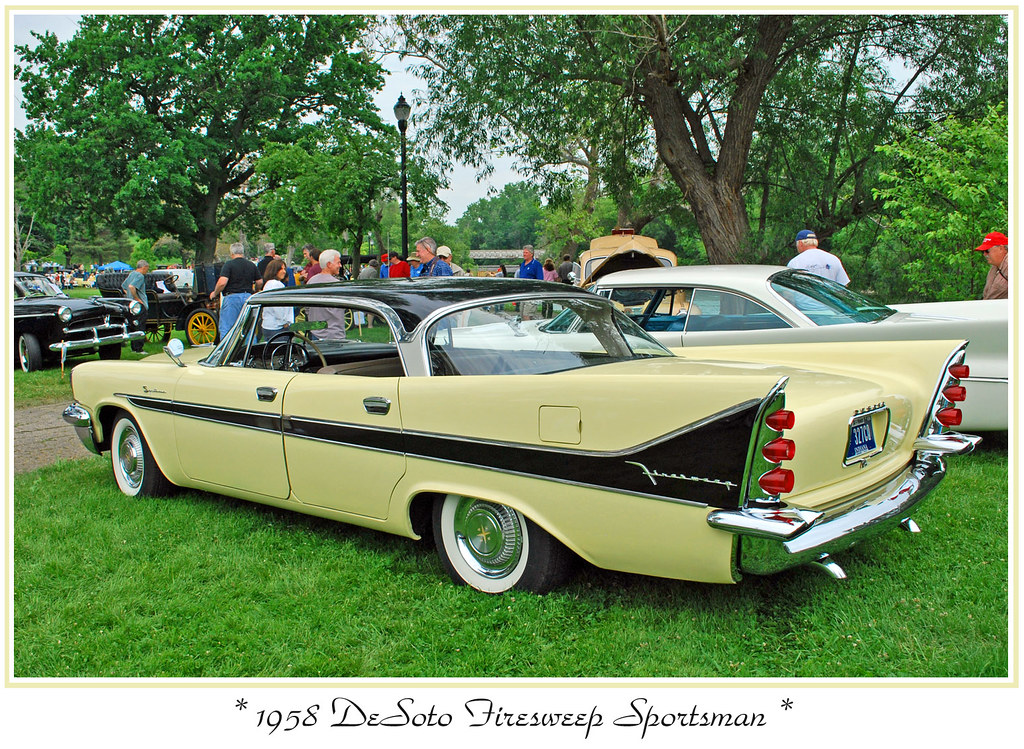 1958 Desoto Firesweep Sportsman The June 7 2009 Orphan