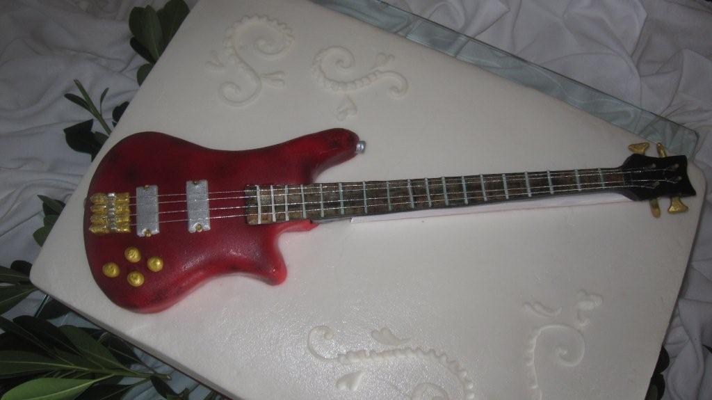 Bass Guitar Cake Pan