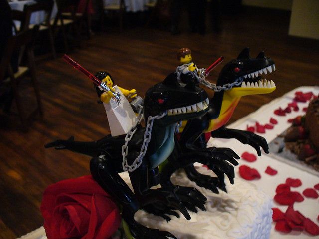 Nerdy Wedding Cake Toppers