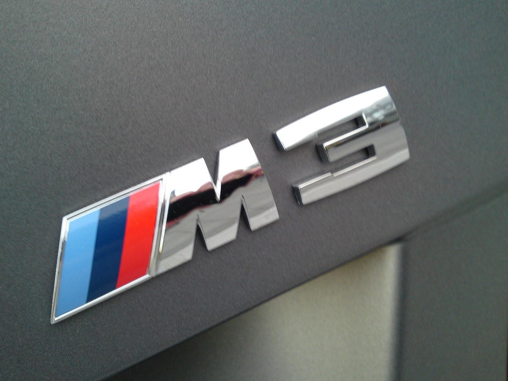 Bmw M3 >> M3 Logo | A BMW M3 Logo macro shot from the new 2011 Frozen … | Flickr