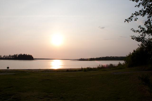 Astotin Lake Elk Island National Parkboating