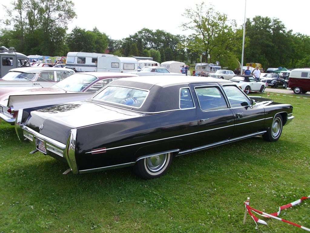 Cadillac Fleetwood Limousine 1972 -2- | Bockhorn 2010 ...