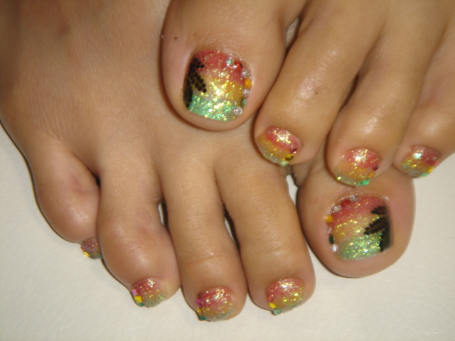 by NEGRIL Nail Art GEL NAIL Rasta design! | by NEGRIL Nail Art - GEL NAIL Rasta Design! Negril Nail Art Flickr