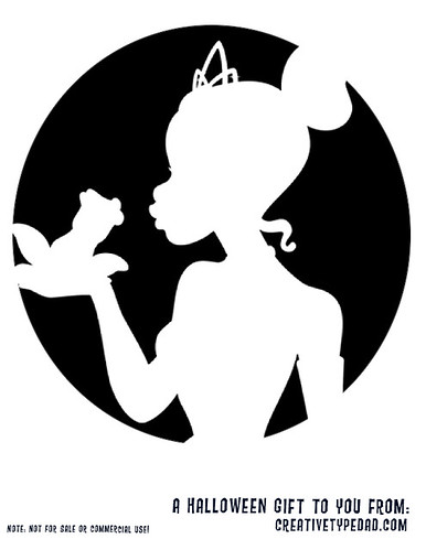 Free Tiana Princess And The Frog Pumpkin Stencil Posted