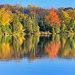 """Autumn Art""  Grand Sable Lake, Pictured Rocks National Lakeshore, Michigan's Upper Peninsula"