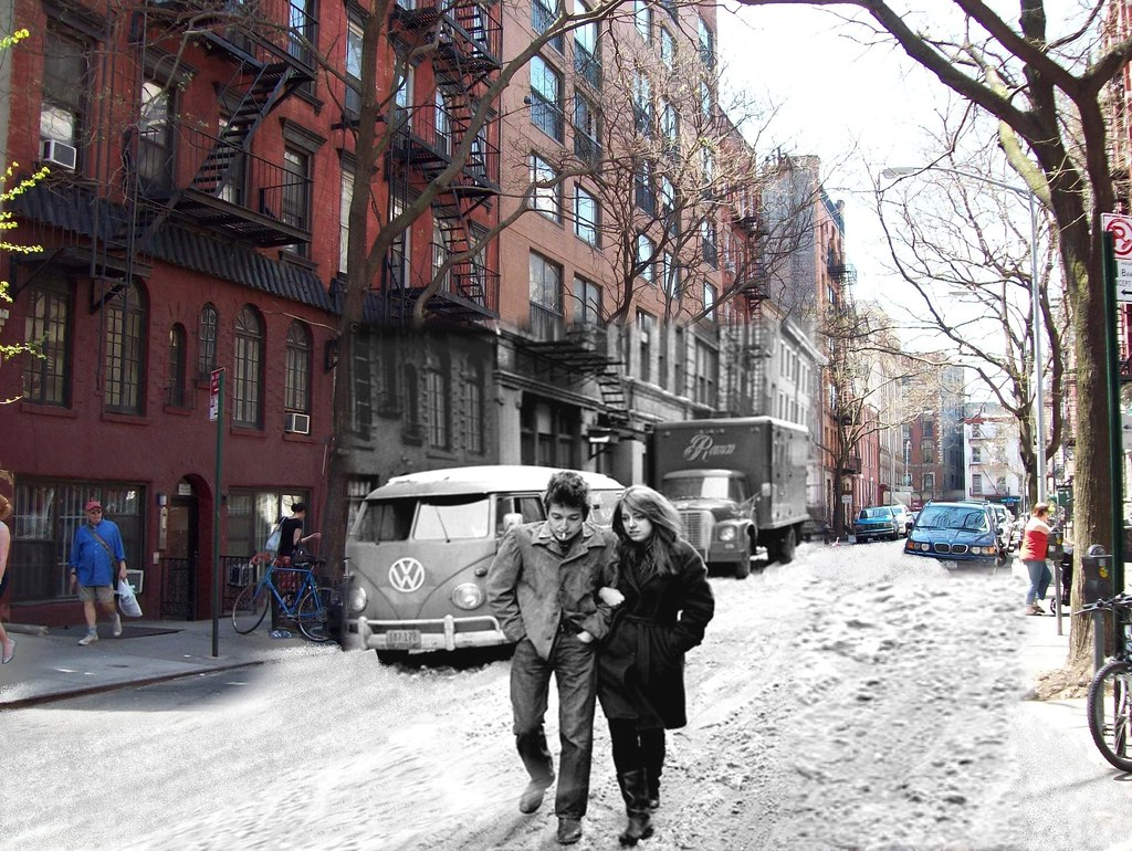 Bob Dylan And Suze Rotolo Freewheelin Jones Street Greenwi