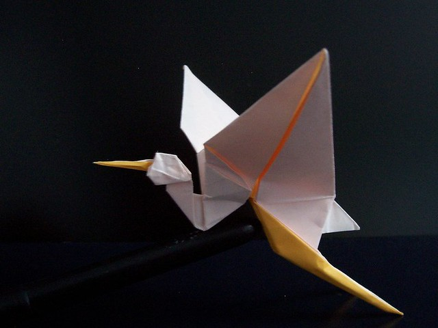 Flapping Crane Robert Lang Diagrams In Origami In Action Flickr