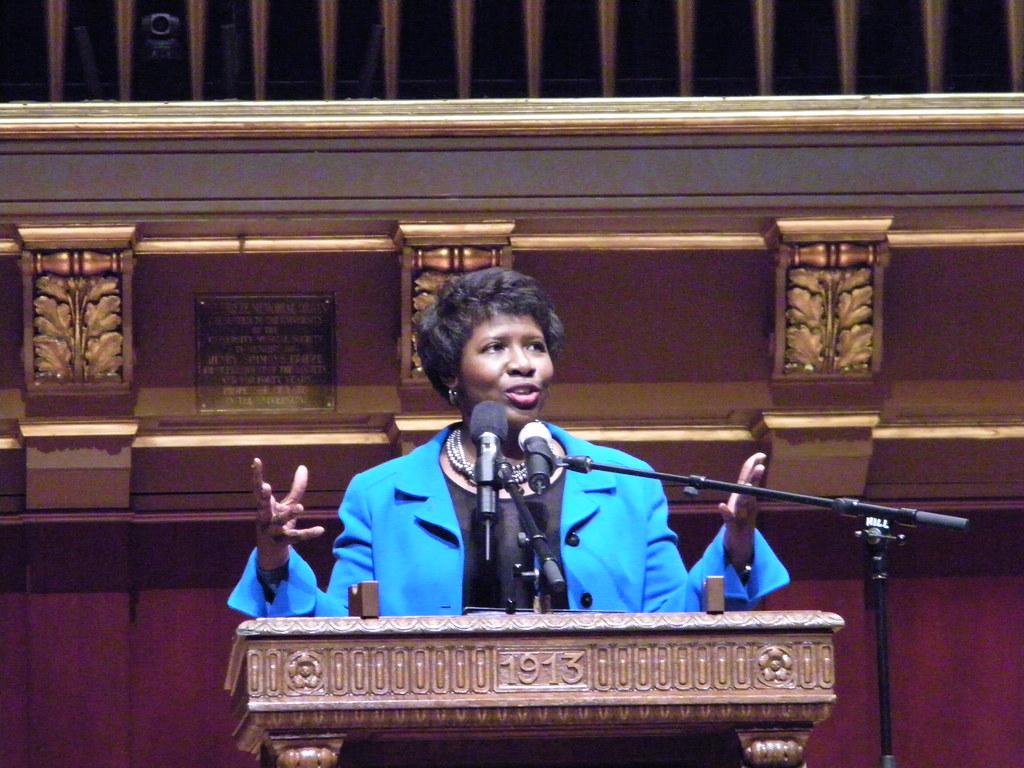 Gwen Ifill Delivering the Keynote Address for the MLK Symp…  Flickr