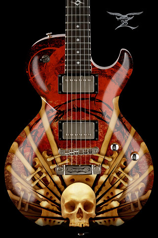 DBZ-Guitars-BoneChurch | DBZ Guitars iPhone Wallpaper ...