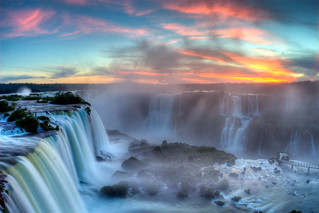 Sunset over Iguazu | by SF Brit
