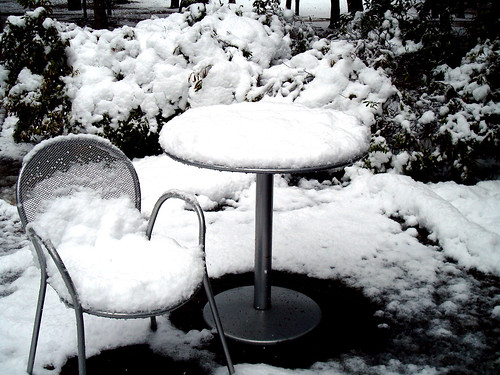 Table and Chair | by Chelle Lynn