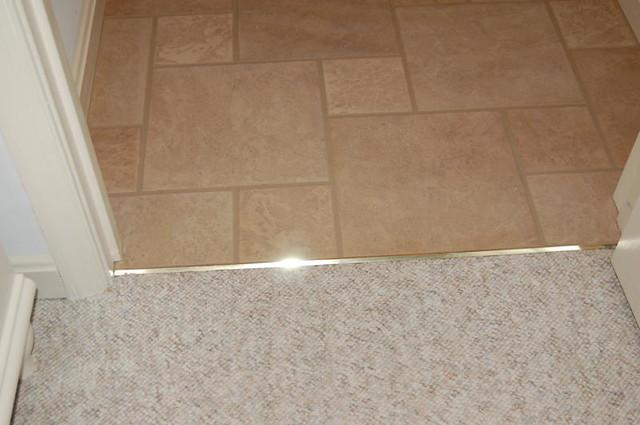 Transition Berber Carpet Ceramic Tile Schleuter Flickr